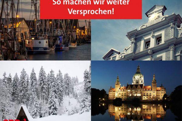 4 gute Jahre für Niedersachsen
