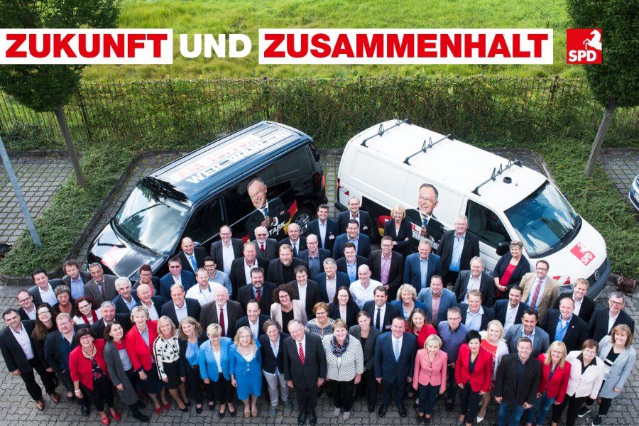 Gruppenbild der Kandidatinnen und Kandidaten