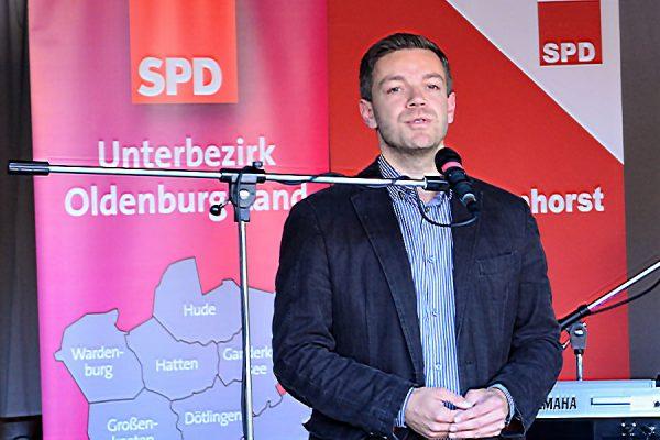 Für die Delmenhorster SPD durfte ich die Gäste begrüßen