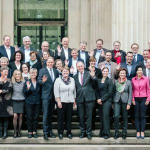 Die SPD-Landtagsfraktion am 24.10.2017