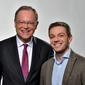 Stephan Weil und Deniz Kurku