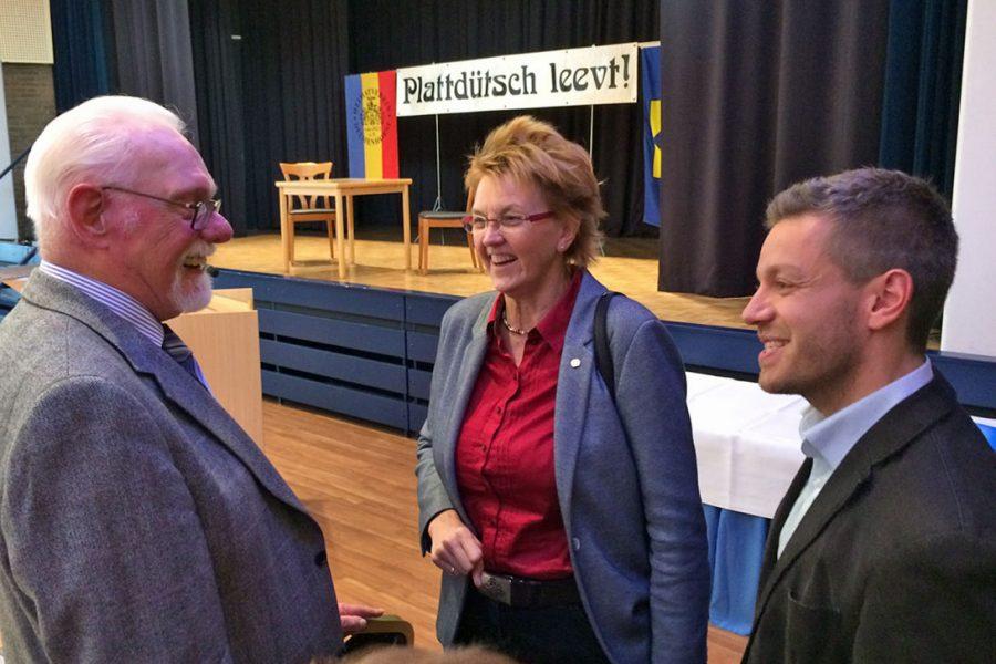 """Beim """"Plattdütsch-Dag"""""""
