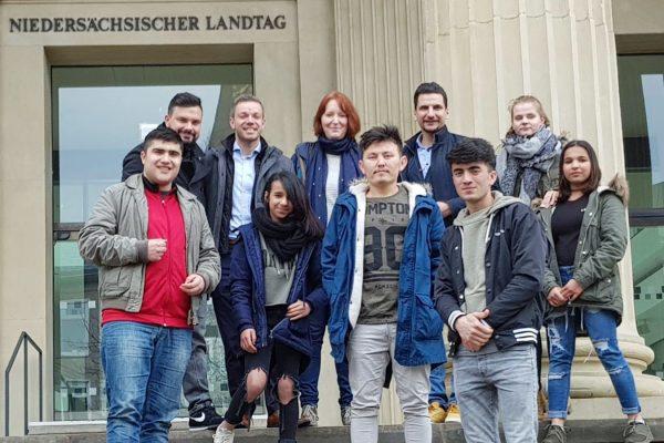 Besuch der Delmenhorster Jugendhilfe-Stiftung