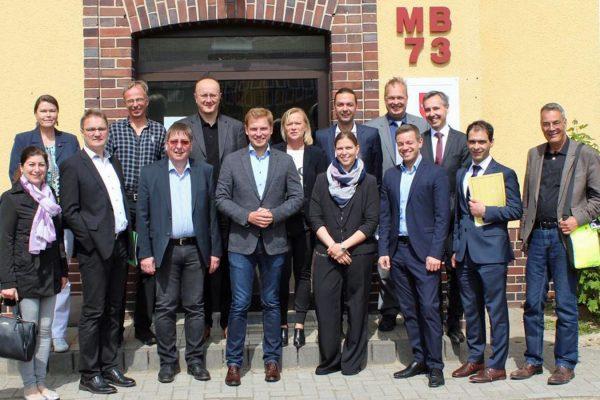 SPD-Innenpolitiker zu Gast in der Landesaufnahmebehörde Niedersachsen