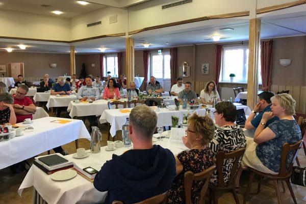 Bild von der Funktionärskonferenz