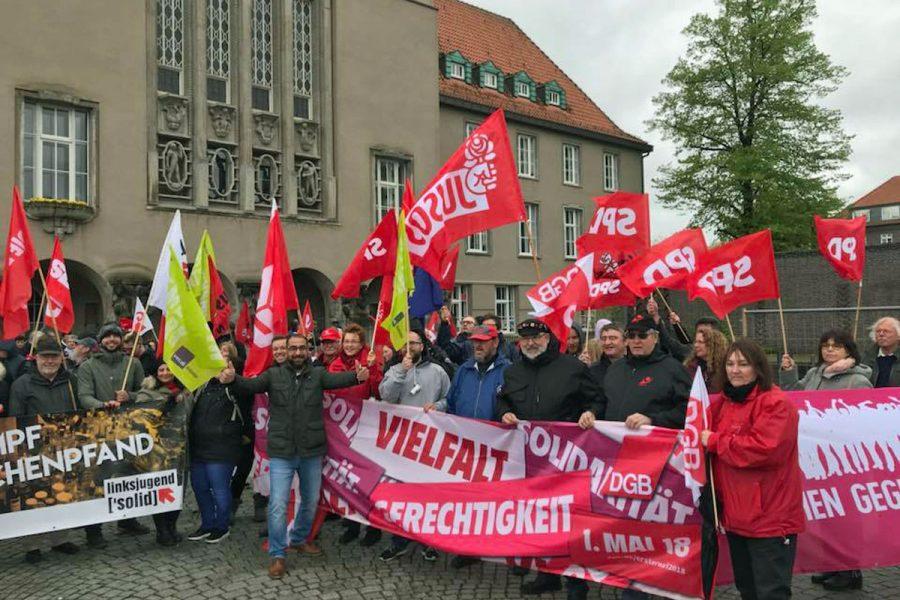 Bild von der Mai-Kundgebung