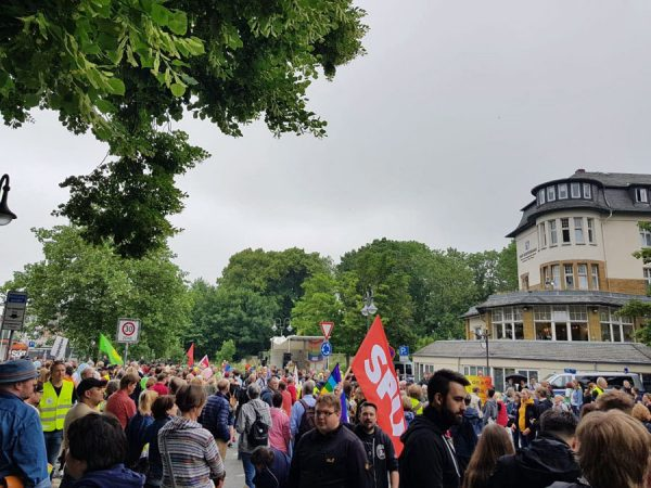 Gegendemonstration in Goslar