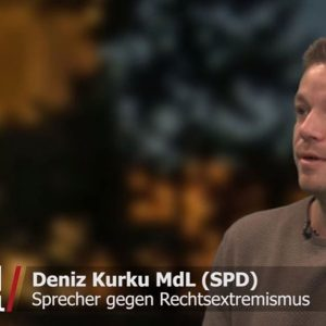 Deniz Kurku beim Interview