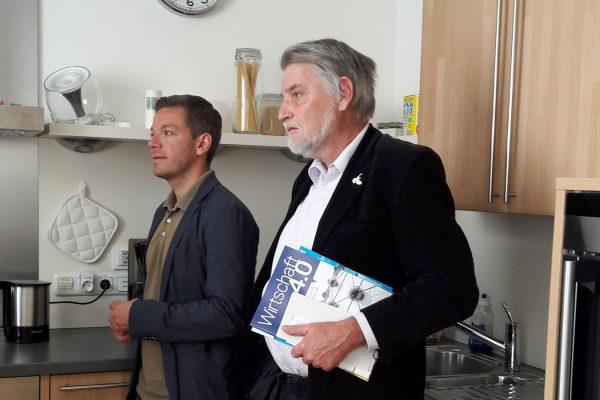 Deniz Kurku und Axel Brammer bei OFFIS
