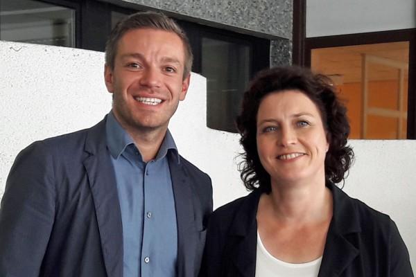 Deniz Kurku und Dr. Carola Reimann