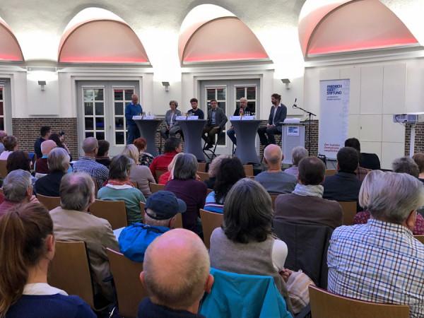 Bild von der Podiumsdiskussion