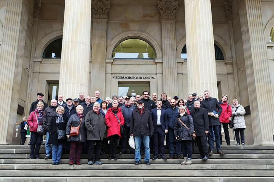 Besuchergruppe aus Delmenhorst
