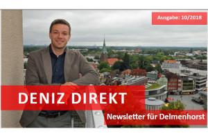 Deniz Direkt – Newsletter für Delmenhorst – 10/2018